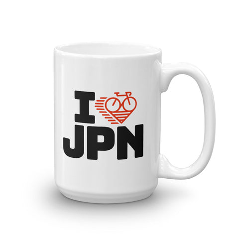 I LOVE CYCLING JAPAN - Mug