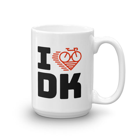 I LOVE CYCLING DENMARK - Mug