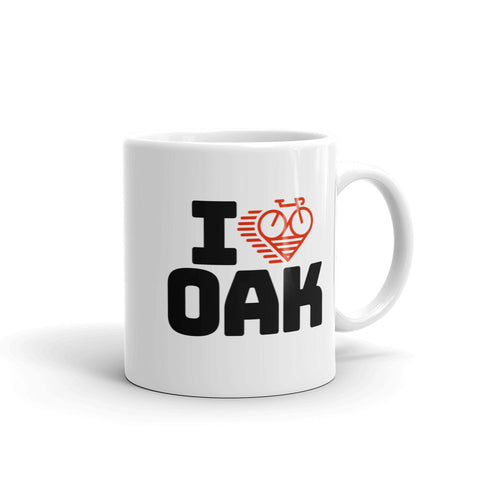 I LOVE CYCLING OAKLAND - Mug