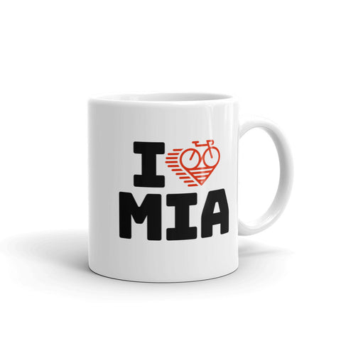 I LOVE CYCLING MIAMI - Mug