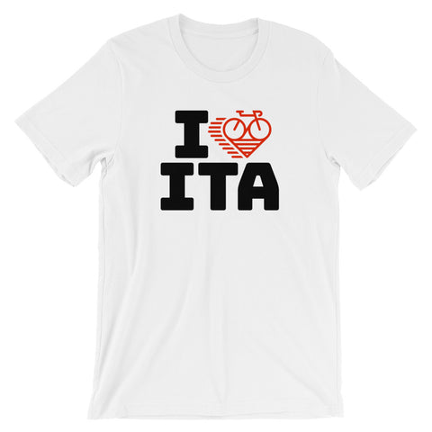 I LOVE CYCLING ITALY - Short-Sleeve Unisex T-Shirt