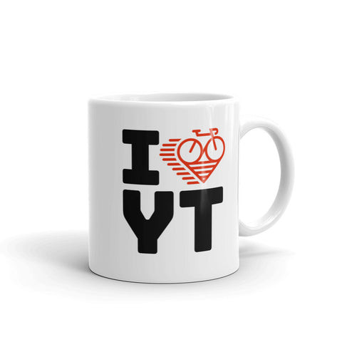 I LOVE CYCLING YUKON TERRITORY - Mug
