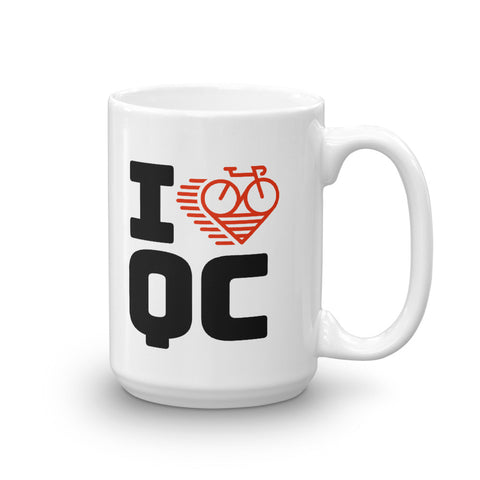 I LOVE CYCLING QUEBEC - Mug