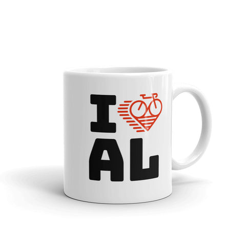I LOVE CYCLING ALABAMA - Mug