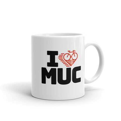 I LOVE CYCLING MUNICH - Mug