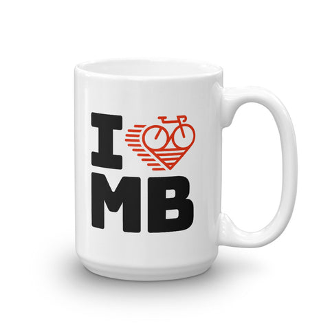 I LOVE CYCLING MANITOBA - Mug