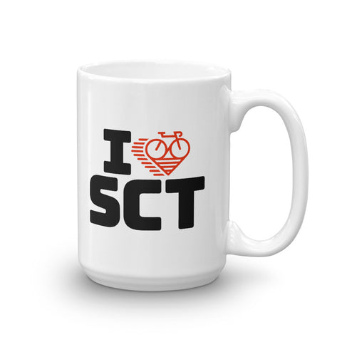 I LOVE CYCLING SCOTLAND - Mug
