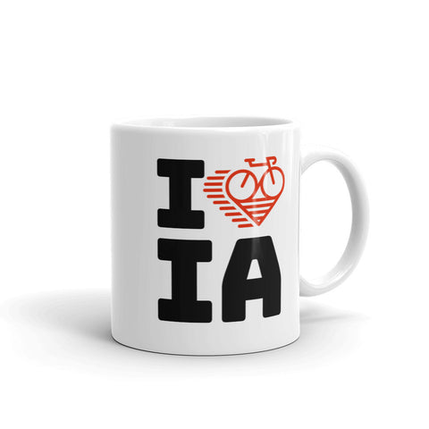 I LOVE CYCLING IOWA - Mug