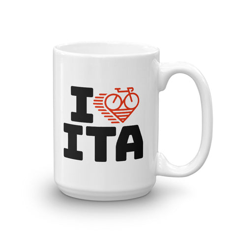 I LOVE CYCLING ITALY - Mug