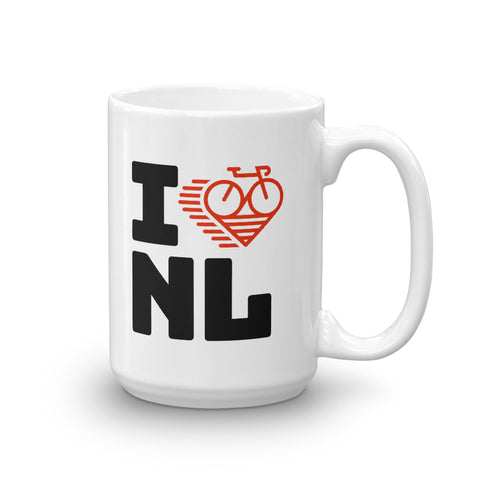 I LOVE CYCLING THE NETHERLANDS - Mug