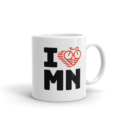 I LOVE CYCLING MINNESOTA - Mug