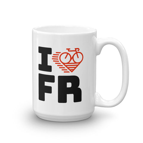 I LOVE CYCLING FRANCE - Mug