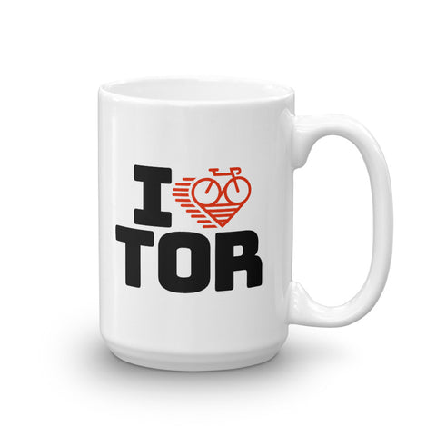 I LOVE CYCLING TORONTO - Mug