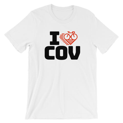 I LOVE CYCLING VANCOUVER - Short-Sleeve Unisex T-Shirt