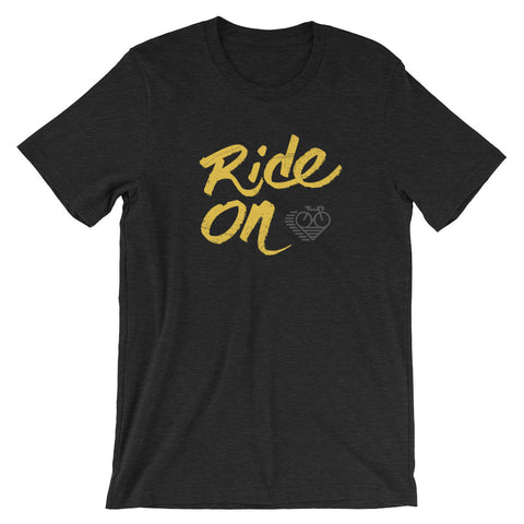 RIDE ON - Short-Sleeve Unisex T-Shirt