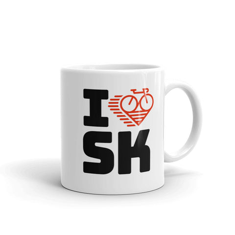 I LOVE CYCLING SASKATCHEWAN - Mug