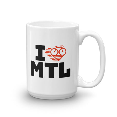 I LOVE CYCLING MONTREAL - Mug