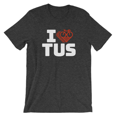 I LOVE CYCLING TUCSON - SHORT-SLEEVE UNISEX T-SHIRT