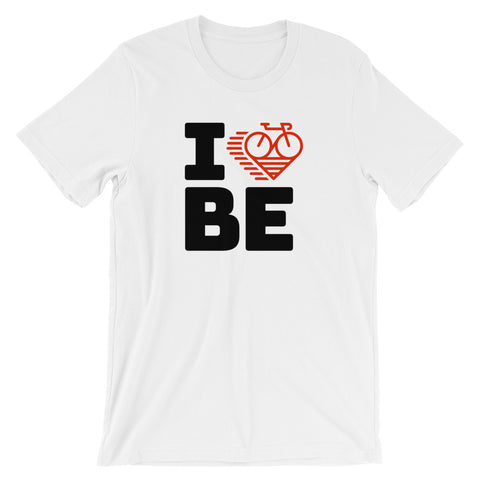 I LOVE CYCLING BELGIUM - Short-Sleeve Unisex T-Shirt