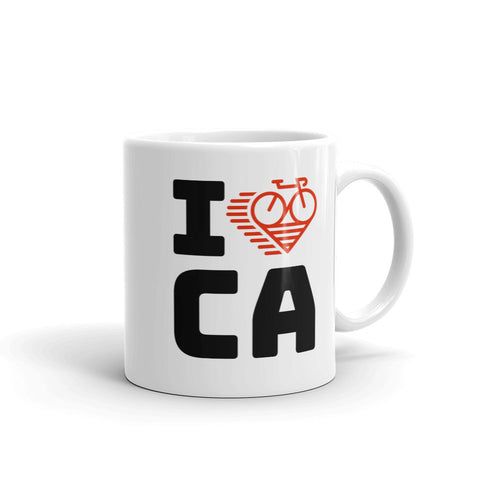 I LOVE CYCLING CALIFORNIA - Mug