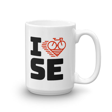 I LOVE CYCLING SWEDEN - Mug