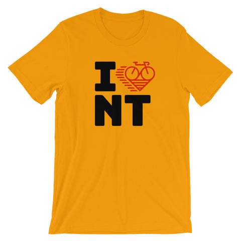I LOVE CYCLING NORTHWEST TERRITORIES - Short-Sleeve Unisex T-Shirt