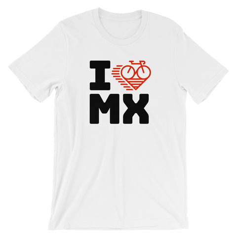 I LOVE CYCLING MEXICO - Short-Sleeve Unisex T-Shirt
