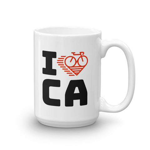 I LOVE CYCLING CANADA - Mug