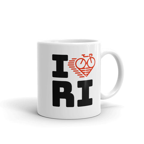 I LOVE CYCLING RHODE ISLAND - Mug