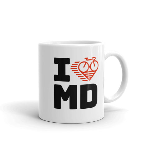 I LOVE CYCLING MARYLAND - Mug