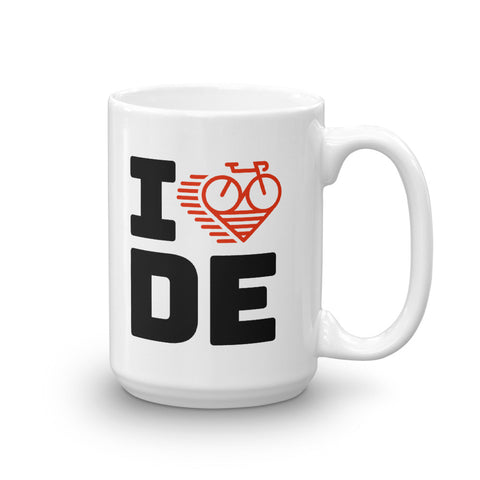 I LOVE CYCLING GERMANY - Mug