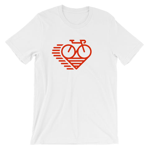LoveCycle - Short-Sleeve Unisex T-Shirt