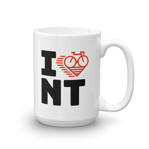 I LOVE CYCLING NORTHWEST TERRITORIES - Mug