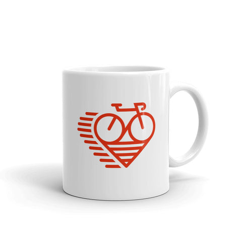 LoveCycle Logo - Mug