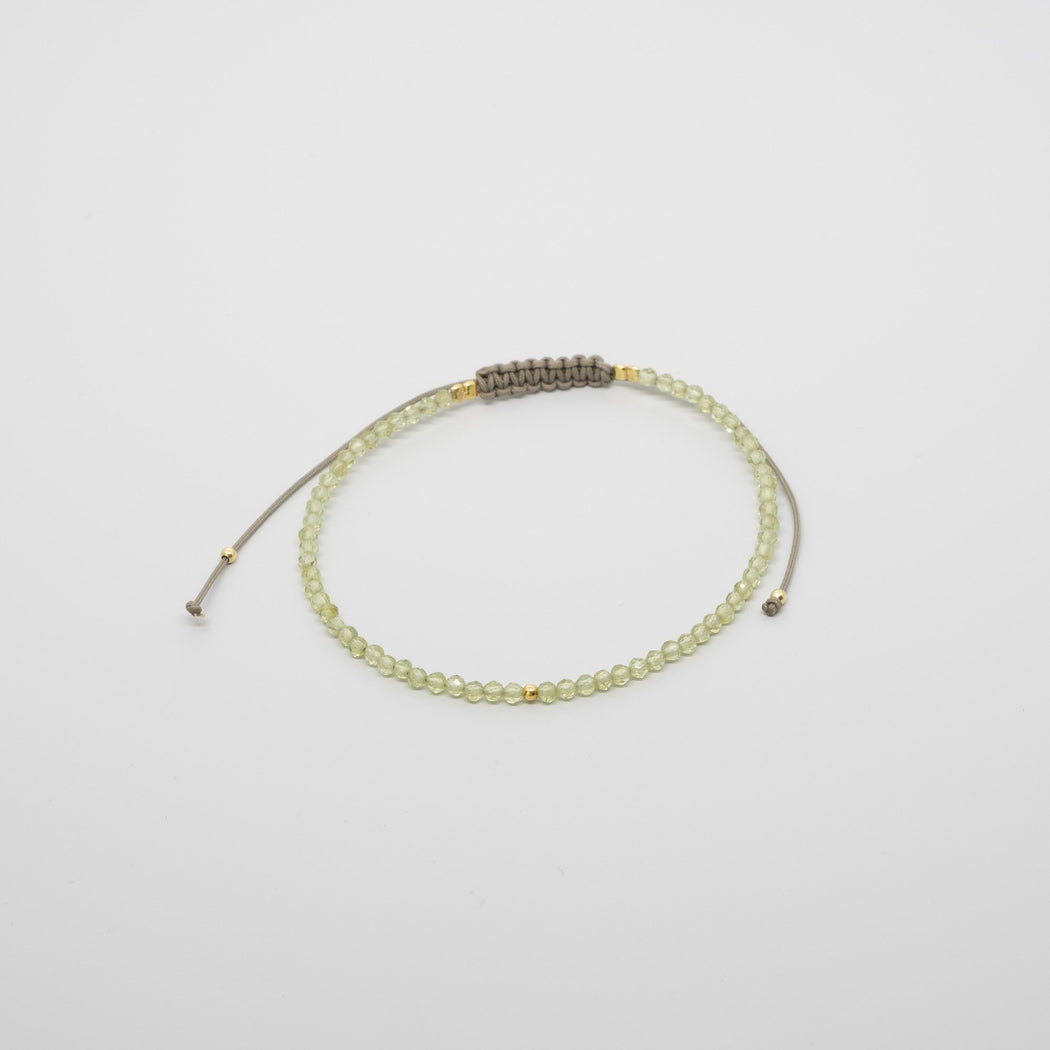 birthstone Armband August Peridot