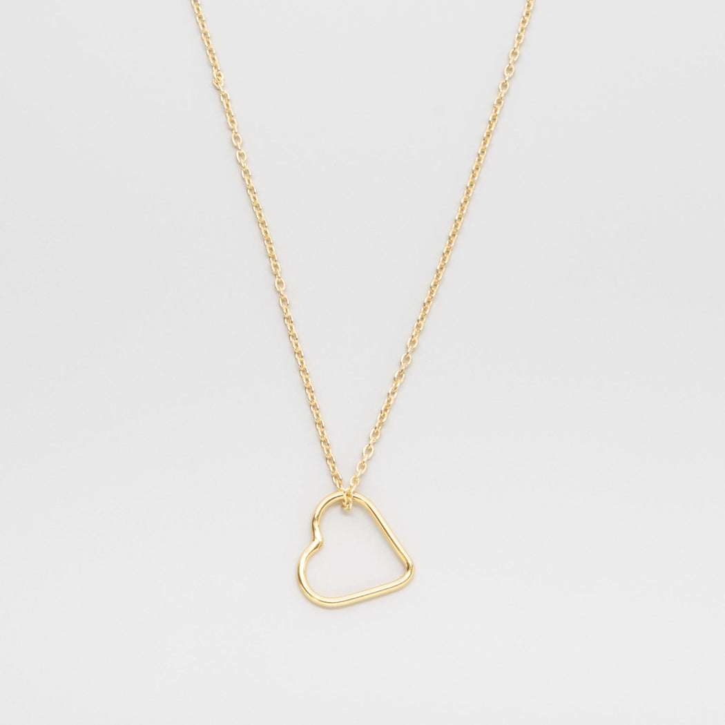 heart necklace - M / L