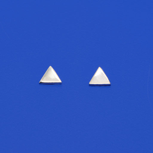 shiny triangle stud