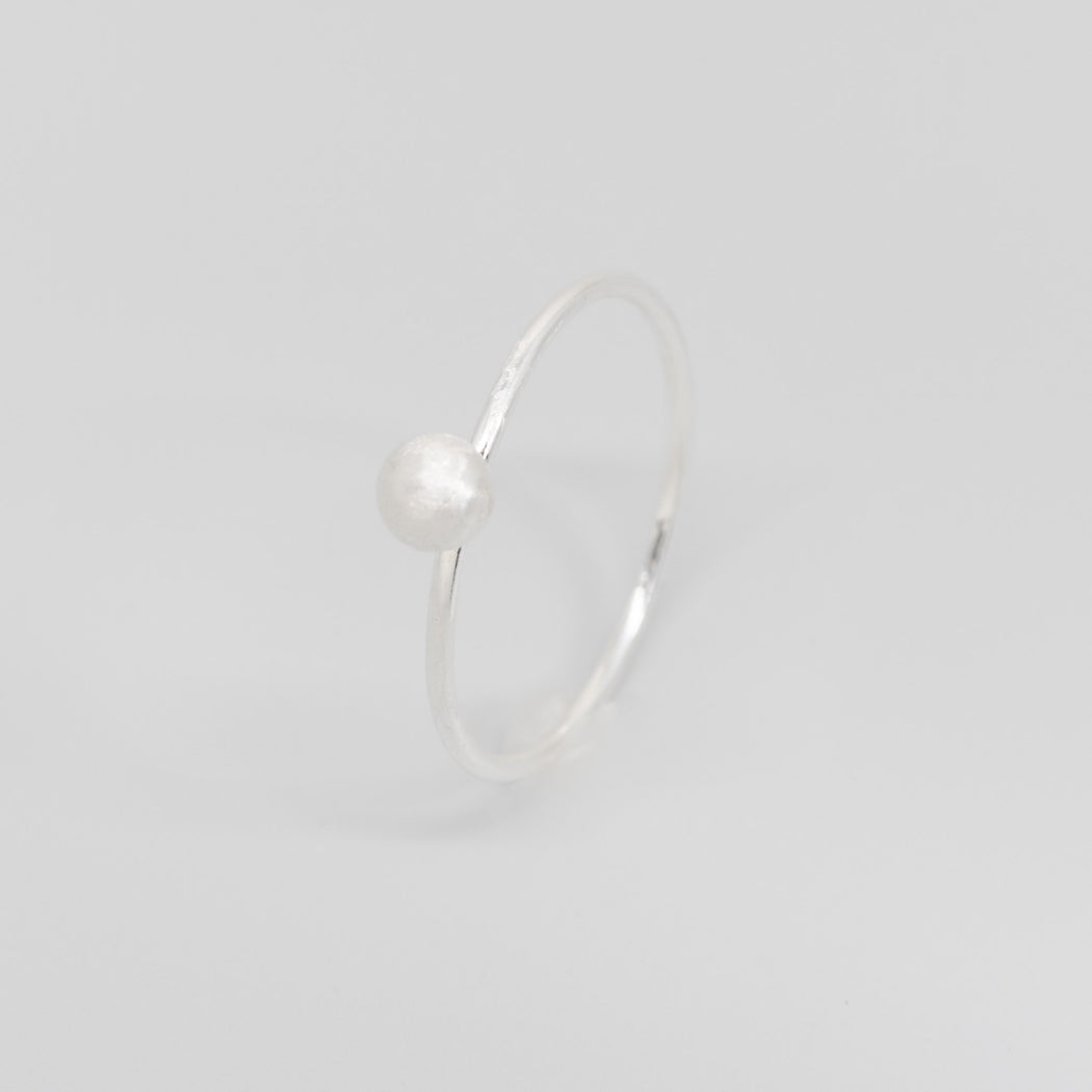 satin ball ring