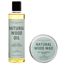 Load image into Gallery viewer, 100% Natural Wood Conditioning Oil and Wax Finish Set