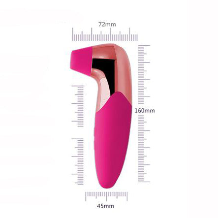 Rechargeable Vibrating Pussy/Nipple Pump - Pink