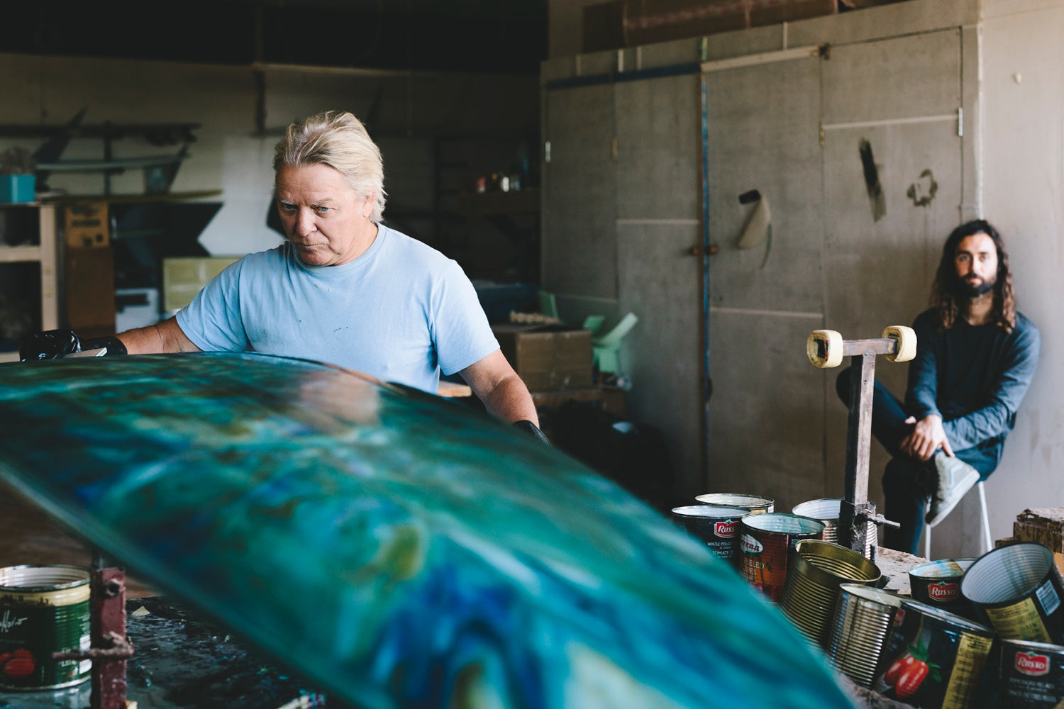 surfboard shaper mikey meyer final colour