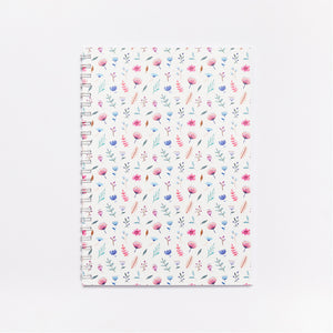 'Flowerbomb' Softcover Notebook