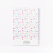 Load image into Gallery viewer, 'Flowerbomb' Softcover Notebook