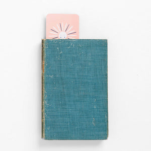be kind book mark sun happy