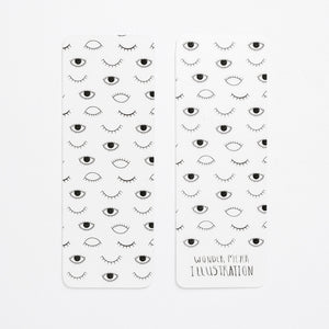 bookmark wonder meyer eyes on you black and white back front