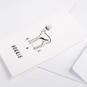 greeting cards springbok bokkie south africa wonder meyer illustrations detail