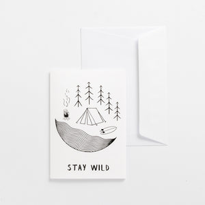 greeting cards stay wild white wonder meyer illustrations product
