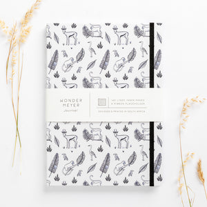 jungle hardcover note book diary monkeys bokkies