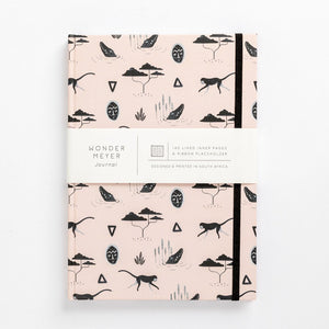 muti african tribal print note book south africa pink branding