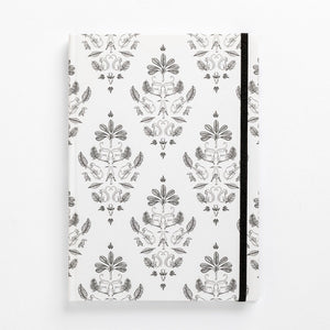 fancy monkey notebook damask front cover notebook diary